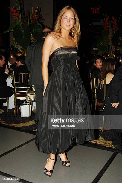 Karina Correa Maury attends EL MUSEO'S 13th Annual Gala at The Mandarin Oriental Hotel on May 17 2006 in New York City