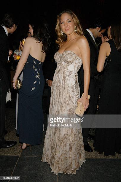 Karina Correa Maury attends The Winter Dance 2006 Desert Oasis Sponsored by VERSACE at The American Museum of Natural History on February 16 2006