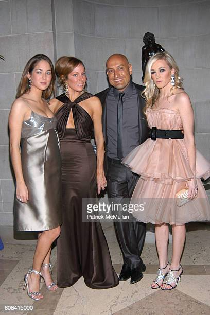 Karina Correa Maury Maria Eugenia Arria Angel Sanchez and Cabney Mercer attend The Frick Annual Young Fellows Ball at The Frick on March 1 2007 in...