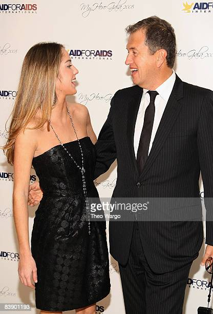 Karina CorreaMaury and Mario Testino attend the Aid for Aids Internaltional 2008 My Hero Gala at Gustavinos on December 1 2008 in New York City
