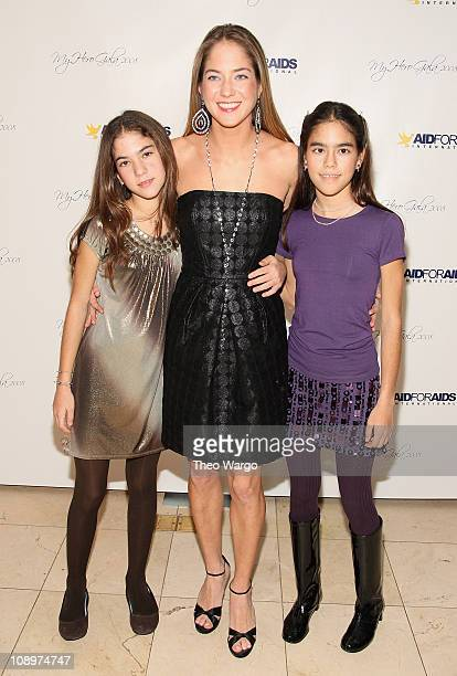 Karina CorreaMaury and sisters attend the Aid for Aids Internaltional 2008 My Hero Gala at Gustavinos on December 1 2008 in New York City