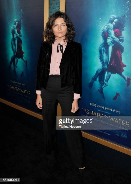 Karina Deyko attends the premiere of 'The Shape Of Water' at Academy Of Motion Picture Arts And Sciences on November 15 2017 in Los Angeles California