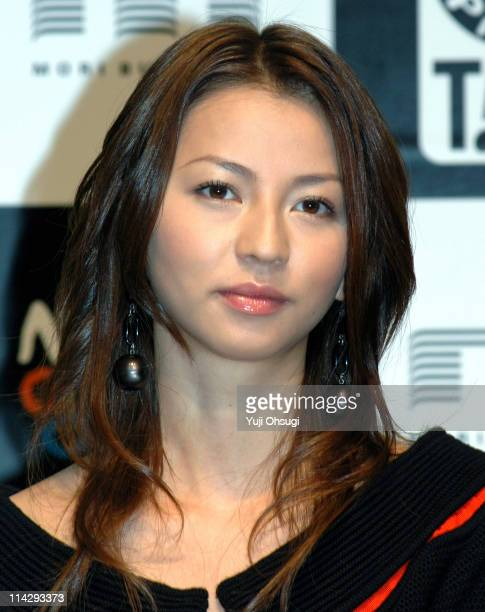 "Karina during 18th Tokyo International Film Festival - ""Rinne"" Press Conference at Roppongi Hills in Tokyo, Japan."