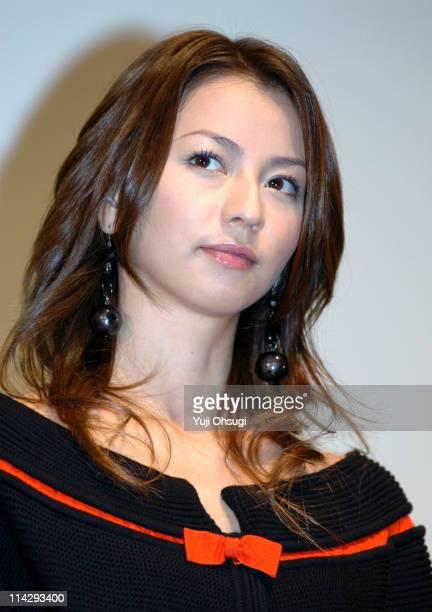 "Karina during 18th Tokyo International Film Festival - ""Rinne"" Stage Greeting at Roppongi Hills Virgin Toho Cinemas in Tokyo, Japan."