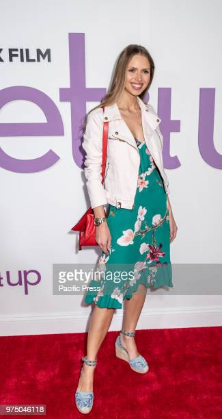 Karina Hofmann attends the New York special screening of the Netflix film 'Set It Up' at AMC Loews Lincoln Square