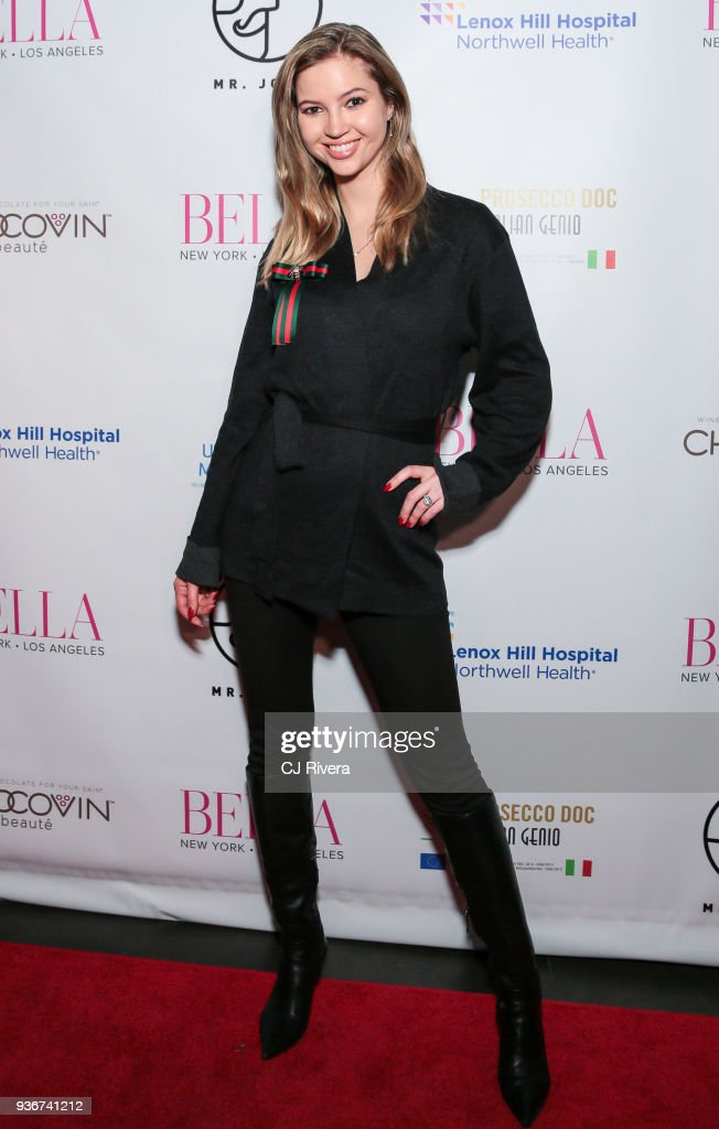Karina Kudzina attends the Bella New York's Influencer Cover Party at Mr. Jones on March 22, 2018 in New York City.