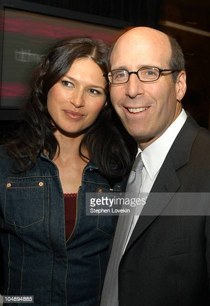 Karina Lombard and Chairman and CEO of Showtime Networks Matt Blank