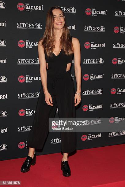 Karina Mata attends a photocall for the 'Bacardi Sitges' Awards 2016 held at the Casa Bacardi during the '49th Sitges Film Festival 2016Õ on October...