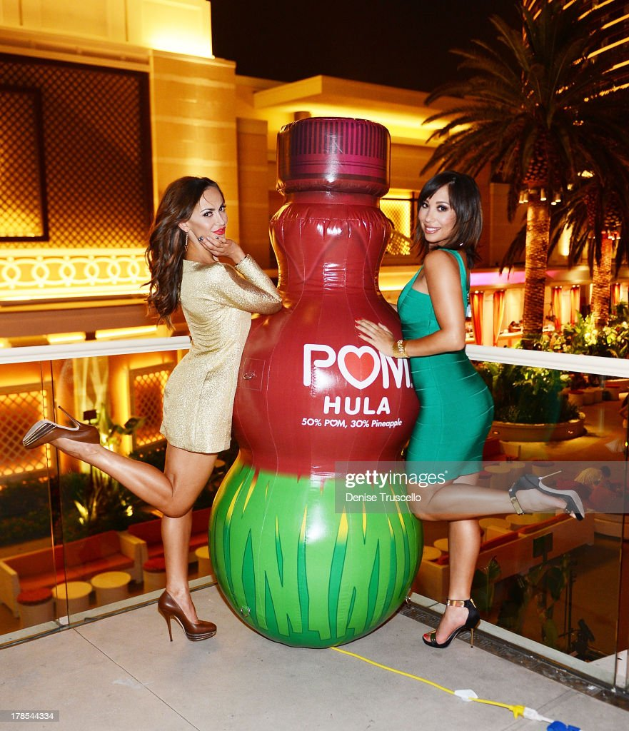 POM Wonderful Debuts Three New 100% Juice Blends With Cheryl Burke & Karina Smirnoff At The Encore Beach Club At Wynn Las Vegas