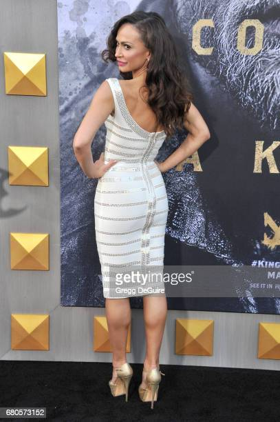 Karina Smirnoff arrives at the premiere of Warner Bros Pictures' King Arthur Legend Of The Sword at TCL Chinese Theatre on May 8 2017 in Hollywood...