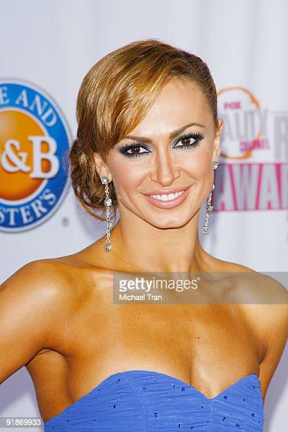 Karina Smirnoff arrives to the 2009 Fox Reality Channel Really Awards held at The Music Box at the Fonda Hollywood on October 13 2009 in Los Angeles...