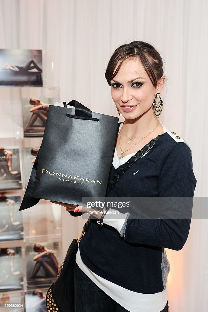 Karina Smirnoff attends 2013 InStyle Beauty Lounge - Day 2 at Four Seasons Hotel Los Angeles at Beverly Hills on January 12, 2013 in Beverly Hills, California.
