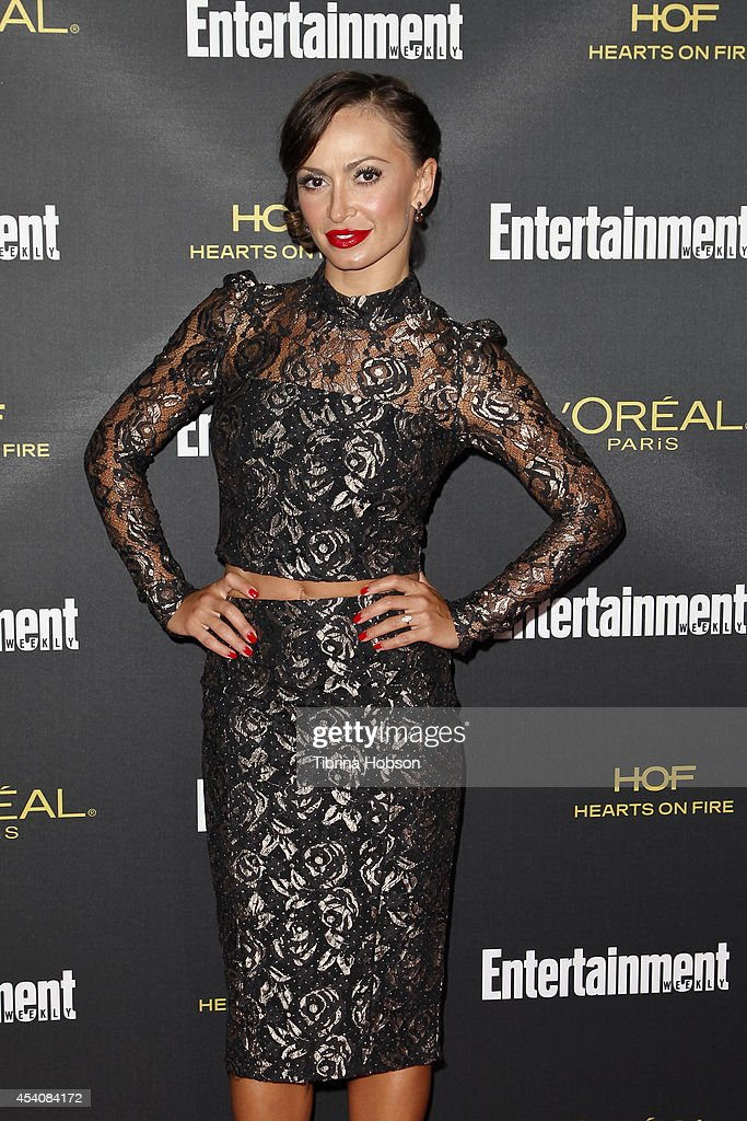 Entertainment Weekly's Pre-Emmy Party - Arrivals : News Photo