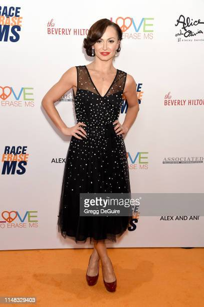 Karina Smirnoff attends the 26th Annual Race to Erase MS Gala at The Beverly Hilton Hotel on May 10 2019 in Beverly Hills California