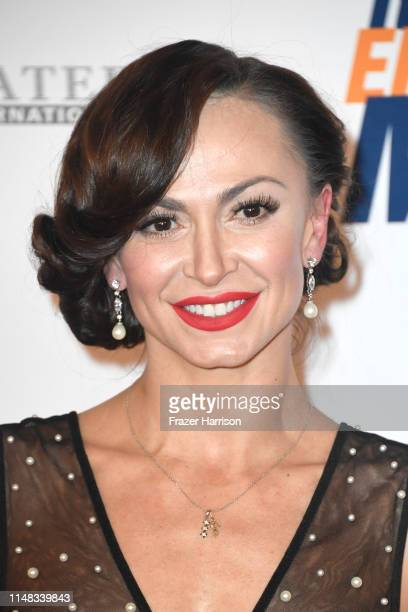 Karina Smirnoff attends the 26th annual Race to Erase MS on May 10 2019 in Beverly Hills California