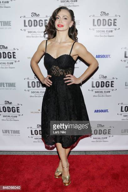 Karina Smirnoff attends The Lodge Social Club Global Love Launch at The Lodge Social Club on September 12 2017 in New York City