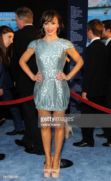 Karina Smirnoff attends the premiere of Disney Pixar's Finding Nemo Disney Digital 3D at the El Capitan Theatre on September 10 2012 in Hollywood...