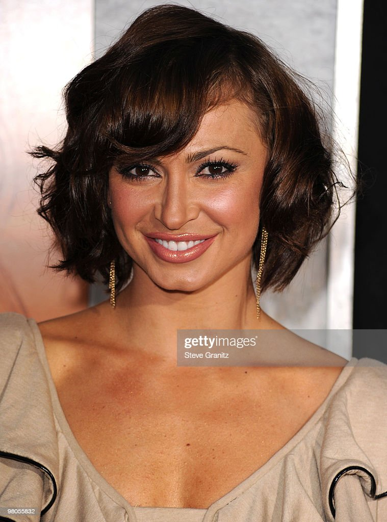 Karina Smirnoff attends the 'The Last Song' Los Angeles Premiere at ArcLight Hollywood on March 25, 2010 in Hollywood, California.