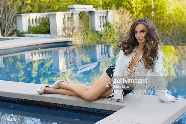 Karina Smirnoff is photographed for Hudson Mod on April 1 2013 in Los Angeles California PUBLISHED IMAGE