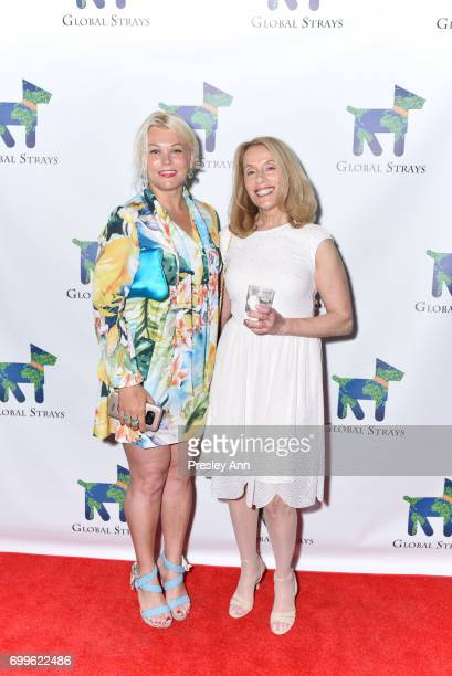 Karina Tatarski and Betsy Spielfogal attend Elizabeth Shafiroff and Lindsey Spielfogal Host the First Annual Global Strays Fund Raising Party at...