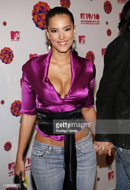 Karina Velasco during MTV Video Music Awards Latin America 2006 - Red Carpet at Palacio de los Deportes in Mexico City, Mexico.