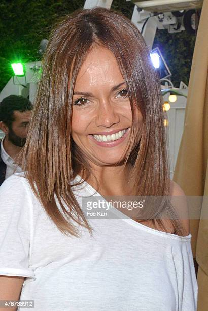 Karine Arsene attends 'Fete des Tuileries' Launch Party To Benefit Meghanora Association on June 26 2015 in Paris France