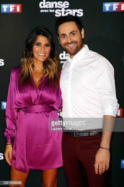 Karine Ferri and Camille Combal attend Danse avec les Stars 2018 Photocall at TF1 on September 11 2018 in Paris France