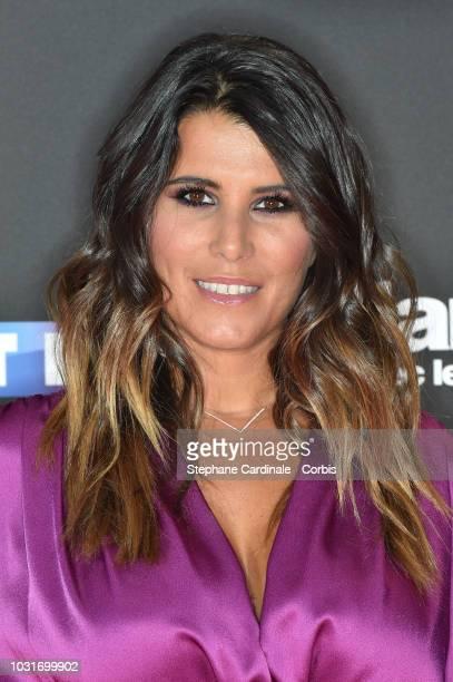 Karine Ferri attends the 'Danse Avec Les Stars 2018' Photocall At TF1 on September 11 2018 in Paris France