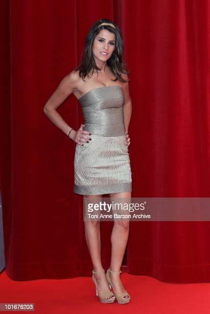 Karine Ferri attends the opening night of the 2010 Monte Carlo Television Festival held at the Grimaldi Forum on June 6, 2010 in Monte-Carlo, Monaco.