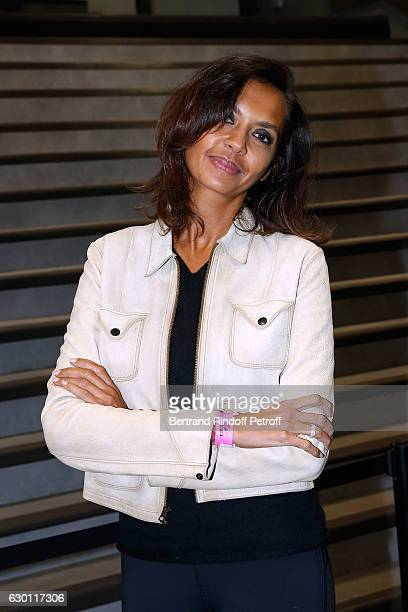 Karine Le Marchand attends Michael Gregorio performs for his 10 years of Career at AccorHotels Arena on December 16 2016 in Paris France