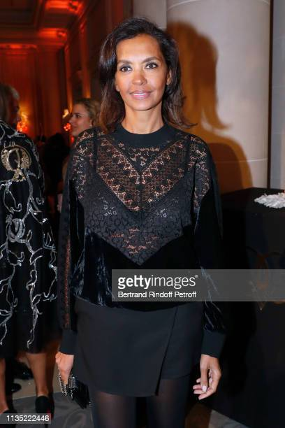Karine Le Marchand attends the Stethos d'Or 2019 Charity Gala of the Foundation for Physiological Research at on March 11 2019 in Paris France