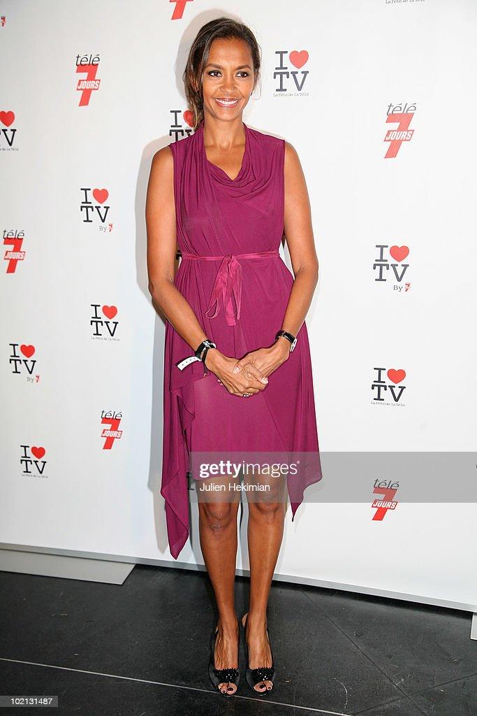 Karine Lemarchand attends the 1st edition of 'La Fete de la Tele' at Le Showcase on June 15, 2010 in Paris, France.