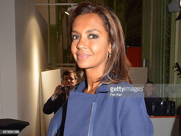Karine Lemarchand attends the FIAC 2014 International Contemporary Art Fair Press Preview At Le Grand Palais on October 22 2014 in Paris France