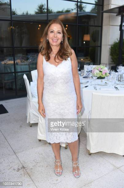 Karine Ohana attends Ohana Co LA Event Brands With Mission at The Peninsula Beverly Hills on August 23 2018 in Beverly Hills California