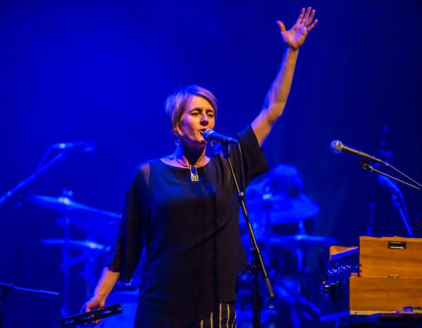 GBR: Karine Polwart Performs At The Barbican, London