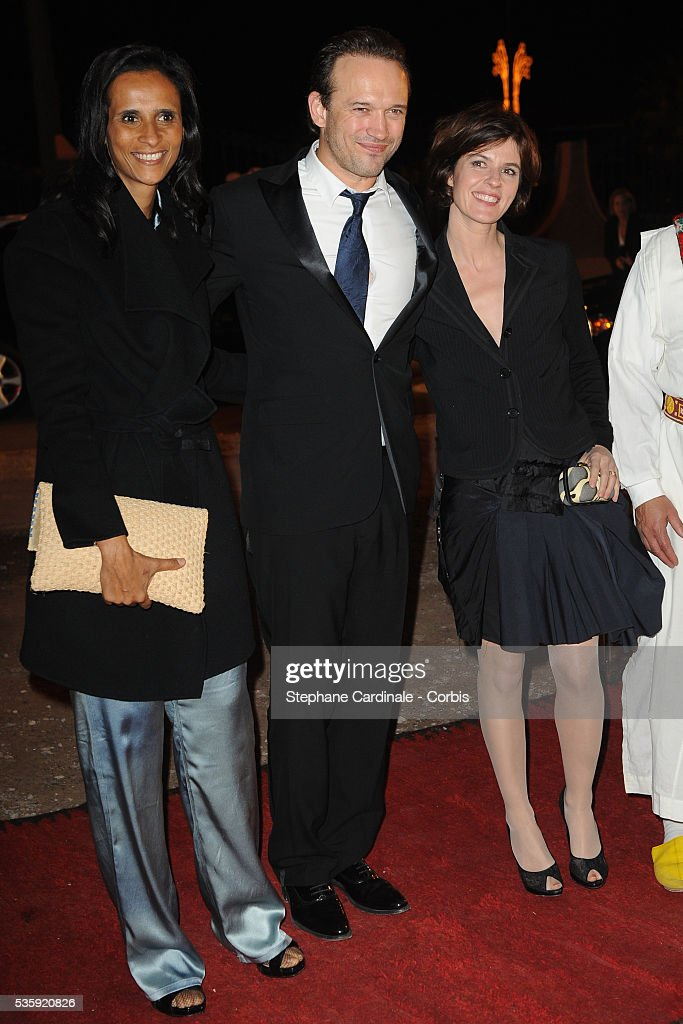 Karine Silla and Vincent Perez attend The Dior Party during the Marrakech 10th Film Festival.Karine Silla, Vincent Perez and Irene Jacob attend The Dior Party during the Marrakech 10th Film Festival.