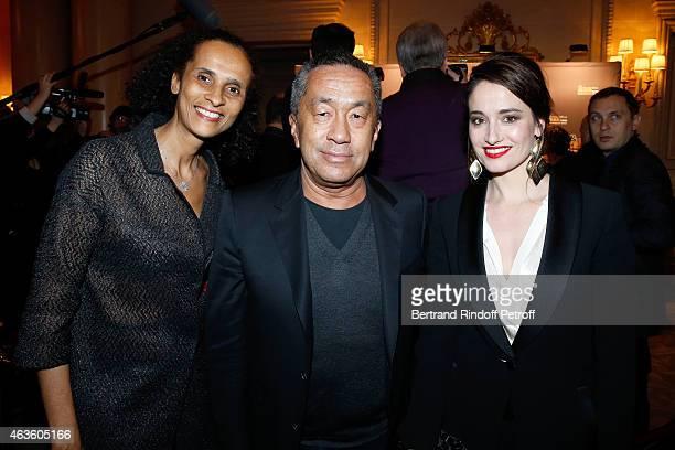 Karine Silla Perez Director Renaud Le Van Kim and Actress Marie Gillain attend the 'Daniel Toscan du Plantier Producer's Price Cesar Film Awards...