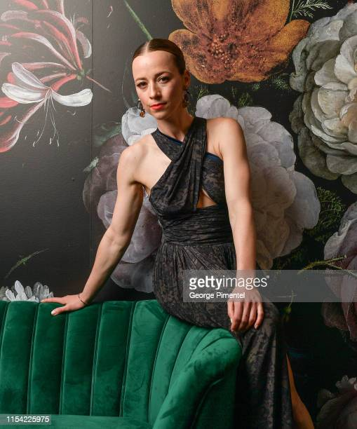 Karine Vanasse poses at the CTV Upfront Portrait Studio at Sony Centre For Performing Arts on June 06 2019 in Toronto Canada