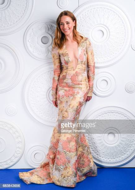 Karine Vanasse poses in the ETalk Portrait Studio at the 2017 Canadian Screen Awards at the Sony Centre For Performing Arts on March 12 2017 in...