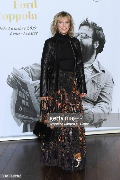 Karine Viard attends the tribute to Francis Ford Coppola during the 11th Film Festival Lumiere on October 18, 2019 in Lyon, France.
