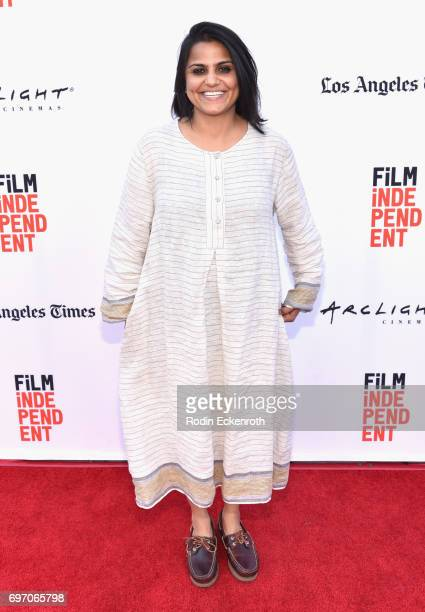 Karishma Dube attends Shorts Program 1 during the 2017 Los Angeles Film Festival at Arclight Cinemas Culver City on June 17 2017 in Culver City...