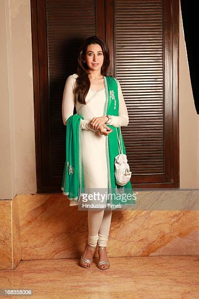 Karishma Kapoor during the photo shoot at Lalit hotel on October 20 2010 in New Delhi India