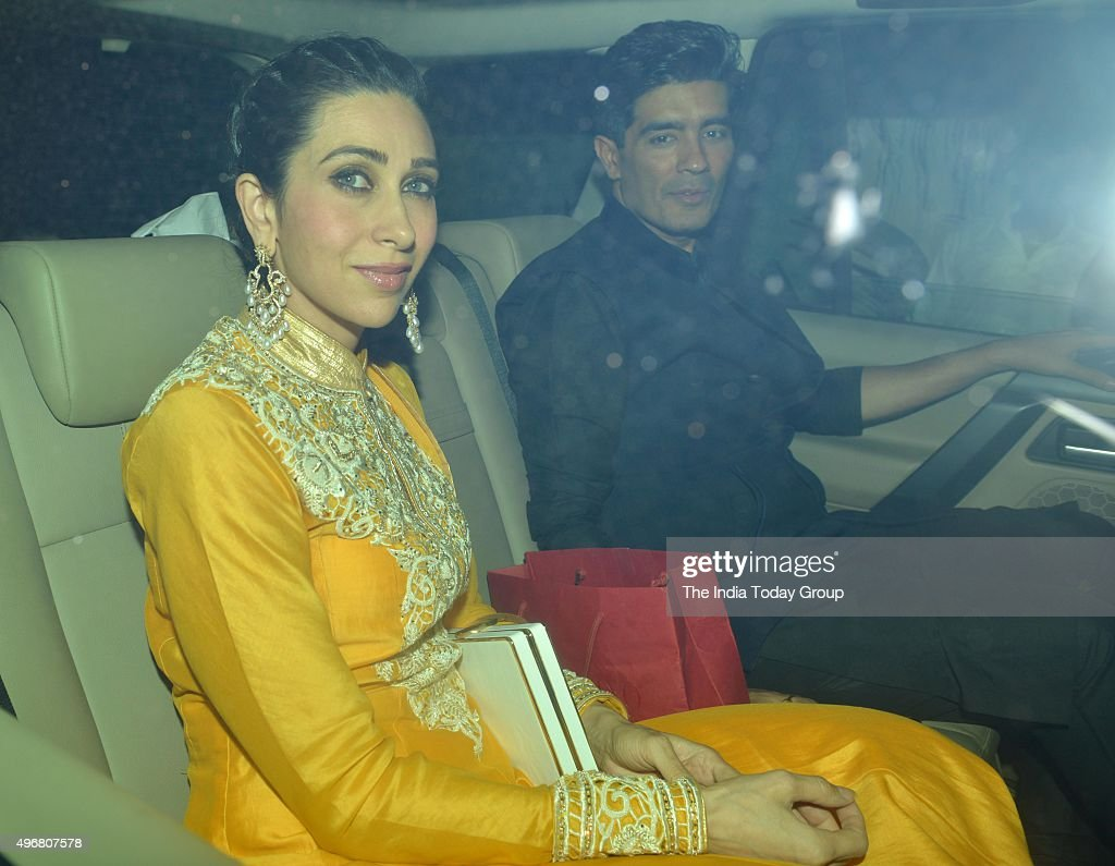 Karisma Kapoor at Akshay Kumars Diwali Party in Mumbai