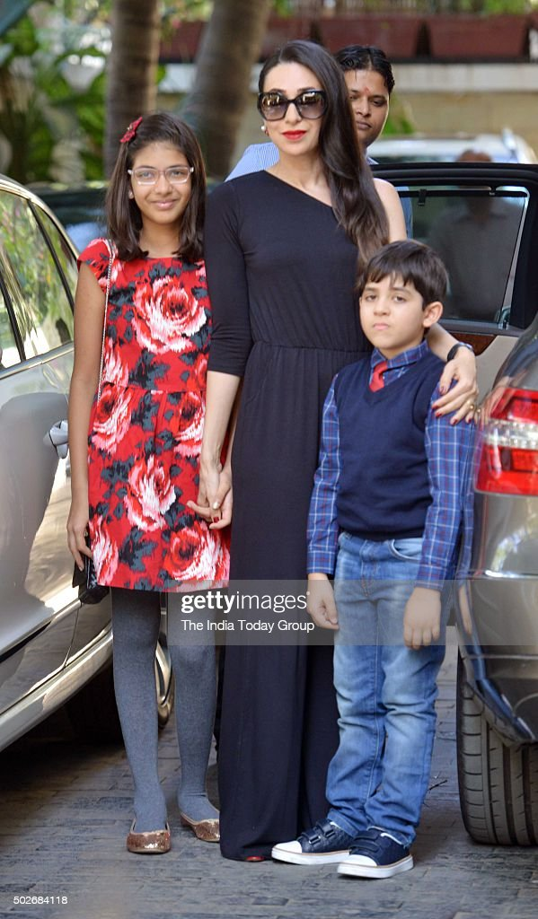 Karisma Kapoor at Christmas brunch by Shashi Kapoor in Mumbai
