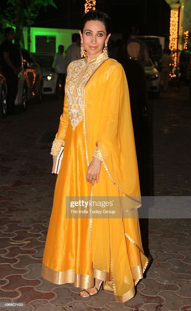 Karisma Kapoor at Shilpa Shettys Diwali party in Mumbai