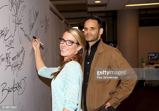 Karissa Hadden and Dustin Feldman attend the AOL Build Speakers Series Karissa Hadden and Dustin Feldman Animal Storm Squad at AOL Studios In New...