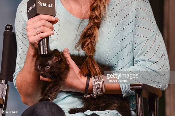 Karissa Hadden attends AOL Build Speakers Series Karissa Hadden and Dustin Feldman Animal Storm Squad at AOL Studios In New York on March 10 2016 in...