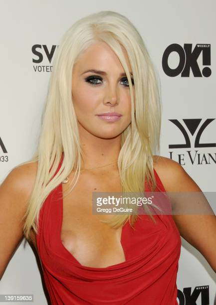 Karissa Shannon arrives for the OK Magazine USA Fifth Anniversary Party at La Vida September 1 2010 in Hollywood California