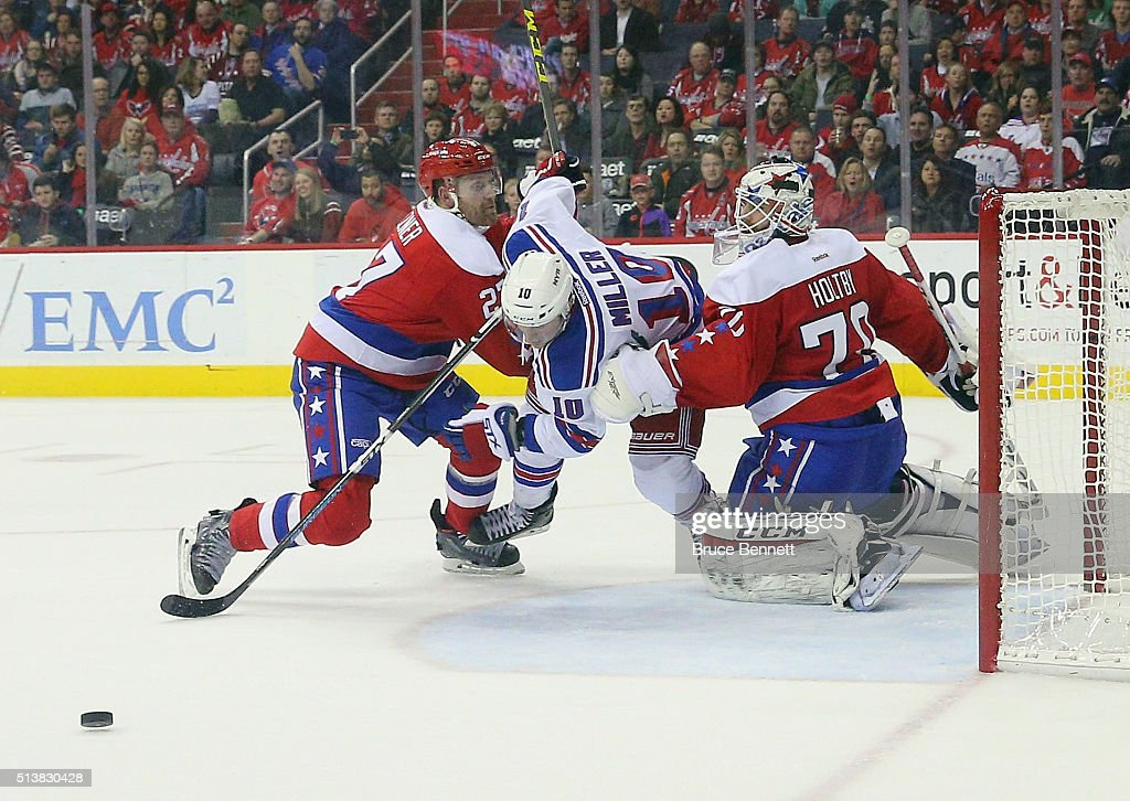 New York Rangers v Washington Capitals : News Photo