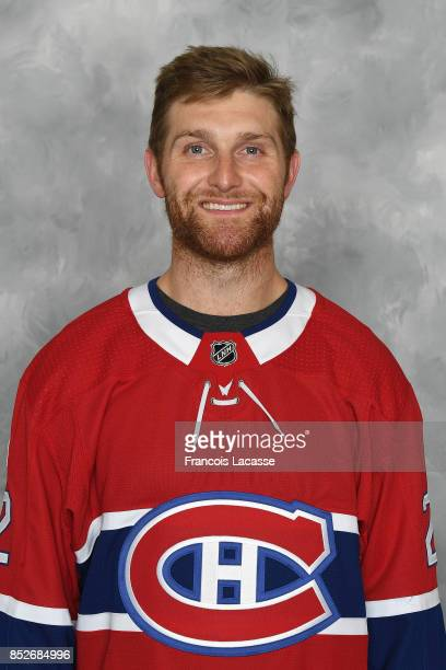 Karl Alzner of the Montreal Canadiens poses for his official headshot for the 20172018 season on September 14 2017 at the Bell Sports Complex in...